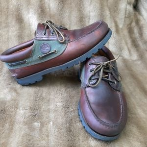 Timberland shoes - real leather- man shoes